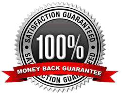 100% guarantee logo