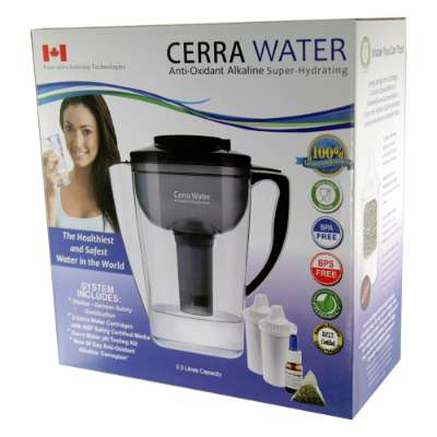 Cerra Alkaline Antioxidant Water Pitcher