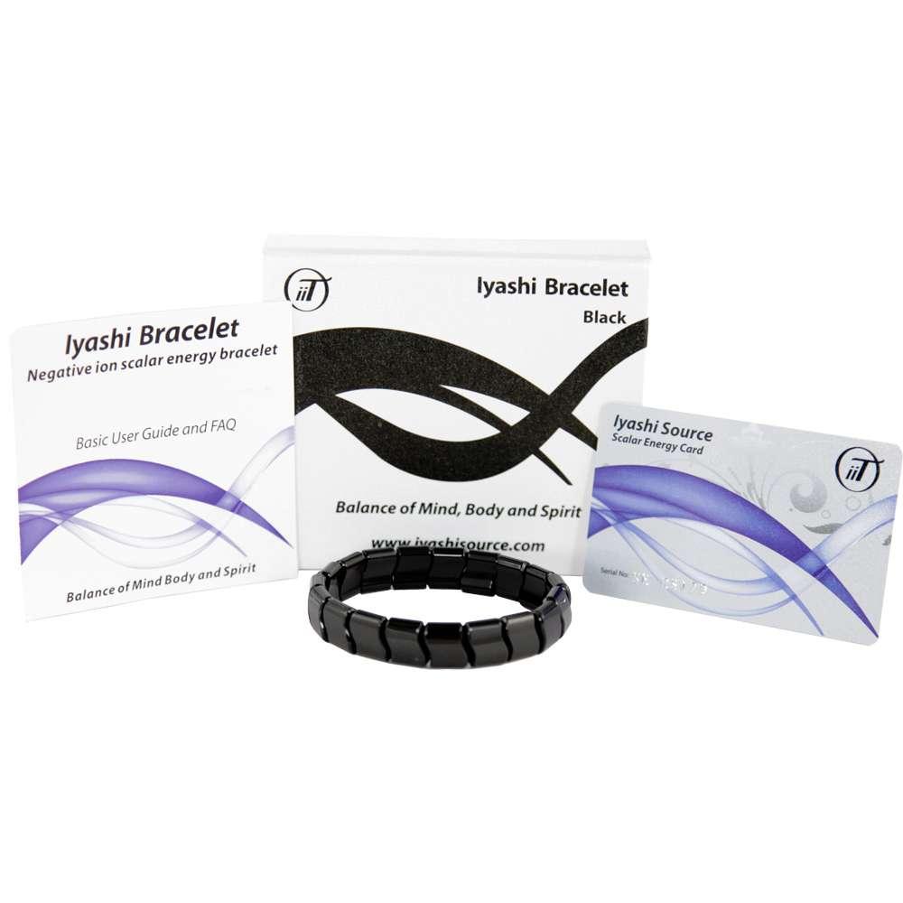 Iyashi Negative Ion Scalar Energy Healing Bracelet