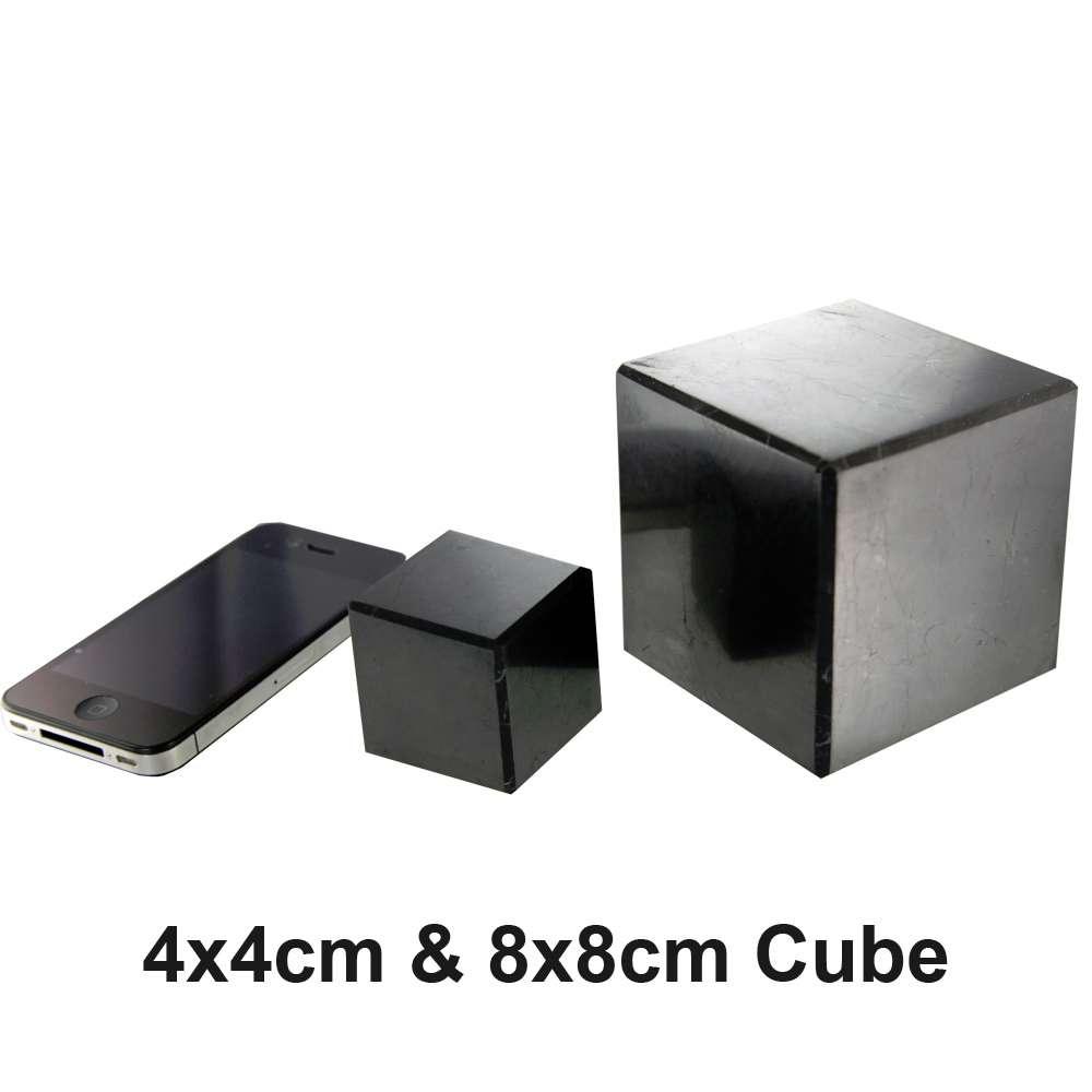 Shieldite EMF Protection Pyramids, Cubes & Stones